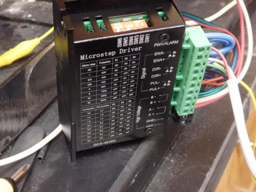 Stepper Driver Wiring